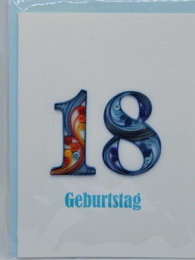Birthday Quilling Card Vietbiszeit