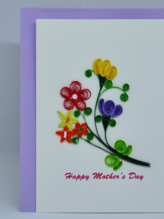 Happy Mother's Day with Flowers